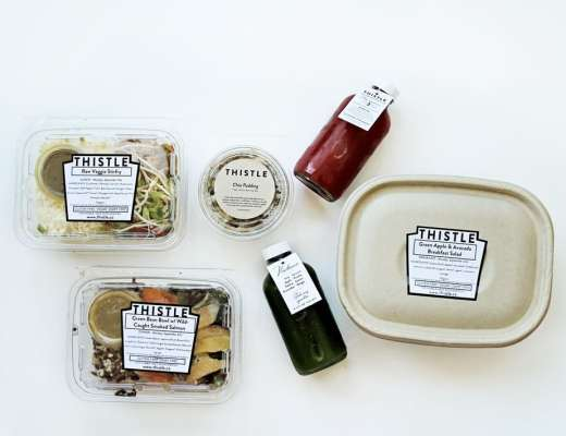 healthy, raw food in San Francisco