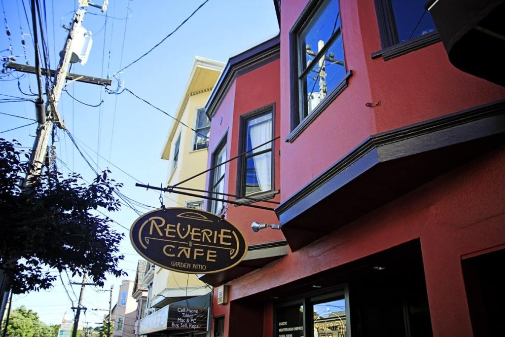 Cafe Reverie, Cole Valley, San Francisco