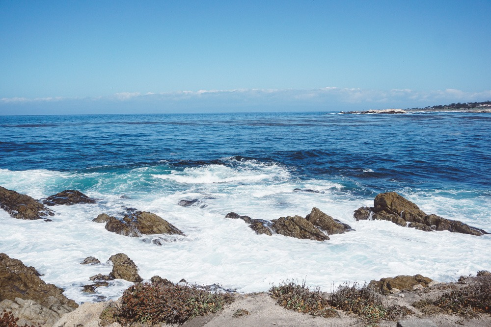 17 Mile drive best beach