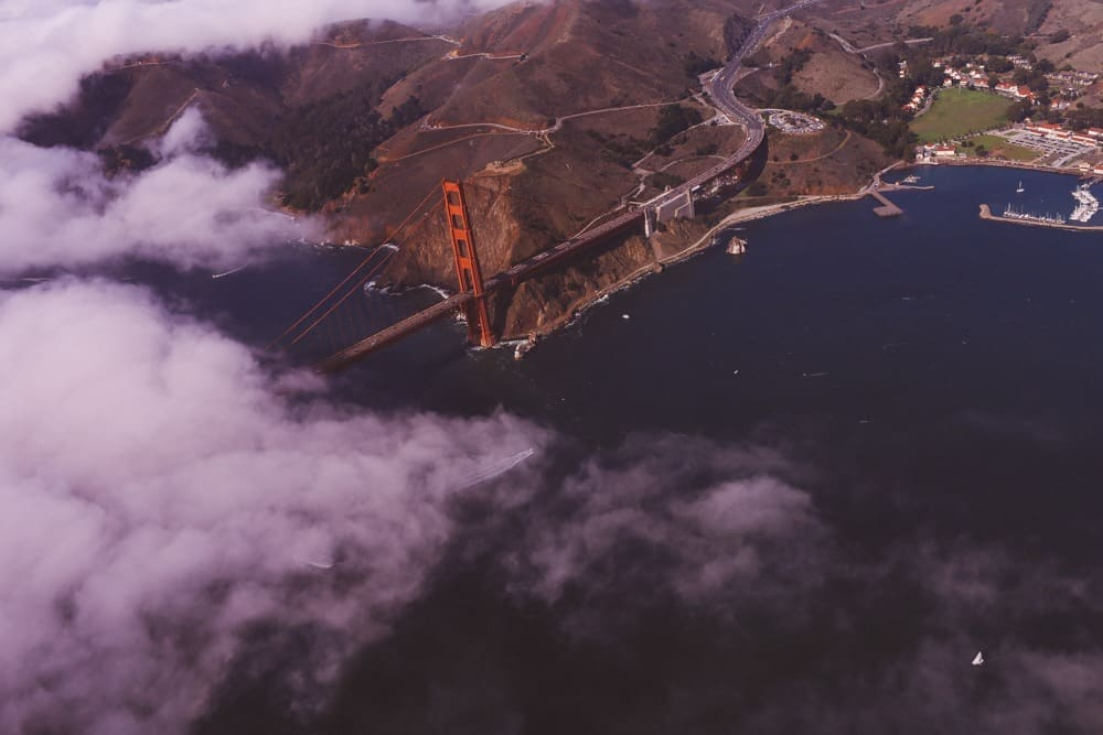 Private Plane Tour Over San Francisco