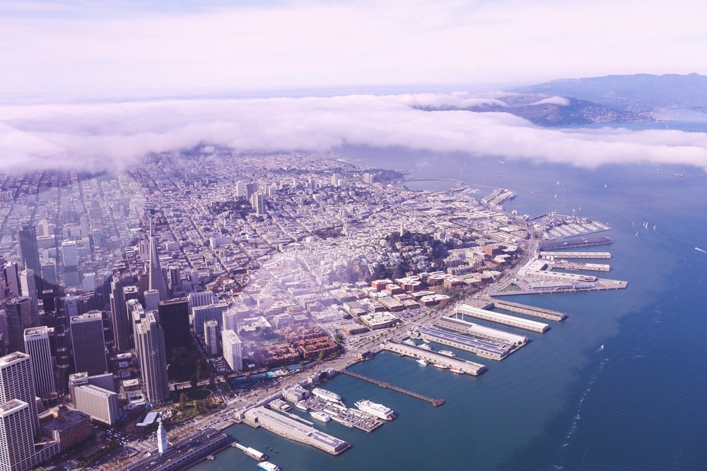 private plane tour San Francisco