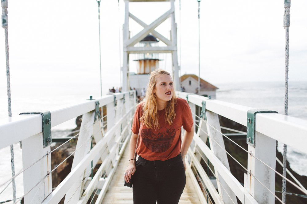Sevenly Yosemite Shirt and the Point Bonita Lighthouse Bridge