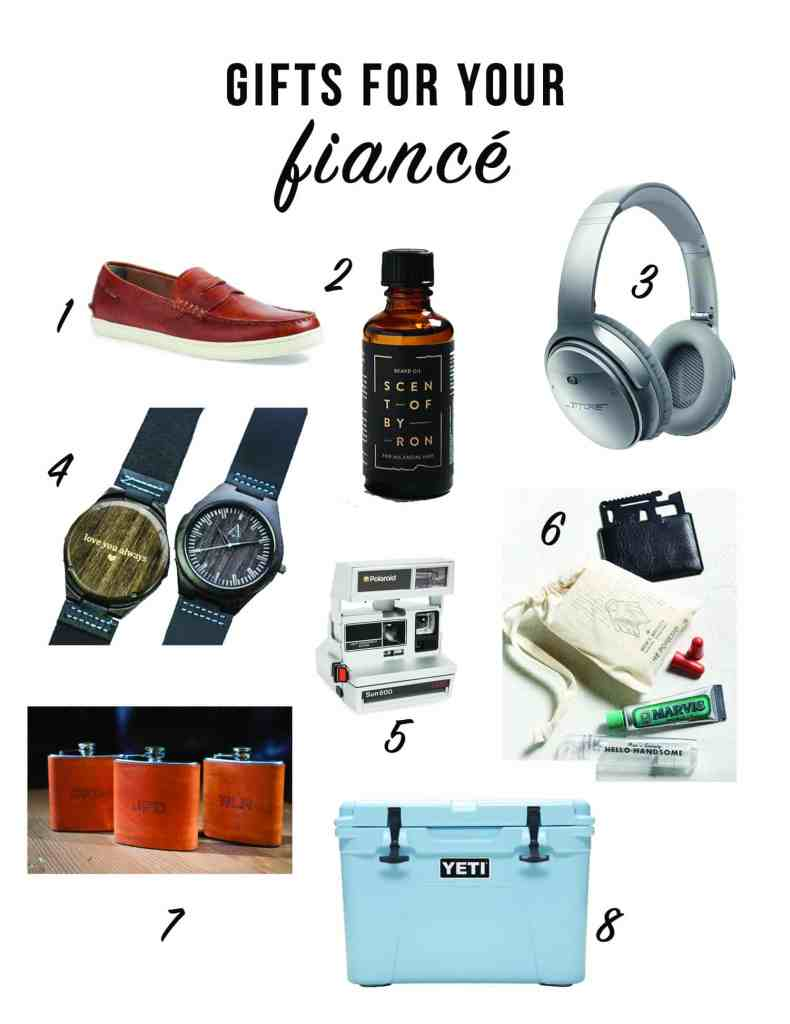 8 Gifts To Give Your Fiancé