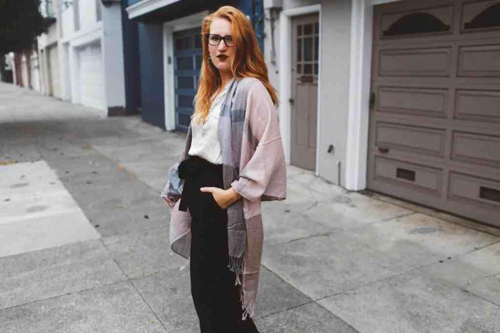 Four Ways To Wear A Scarf