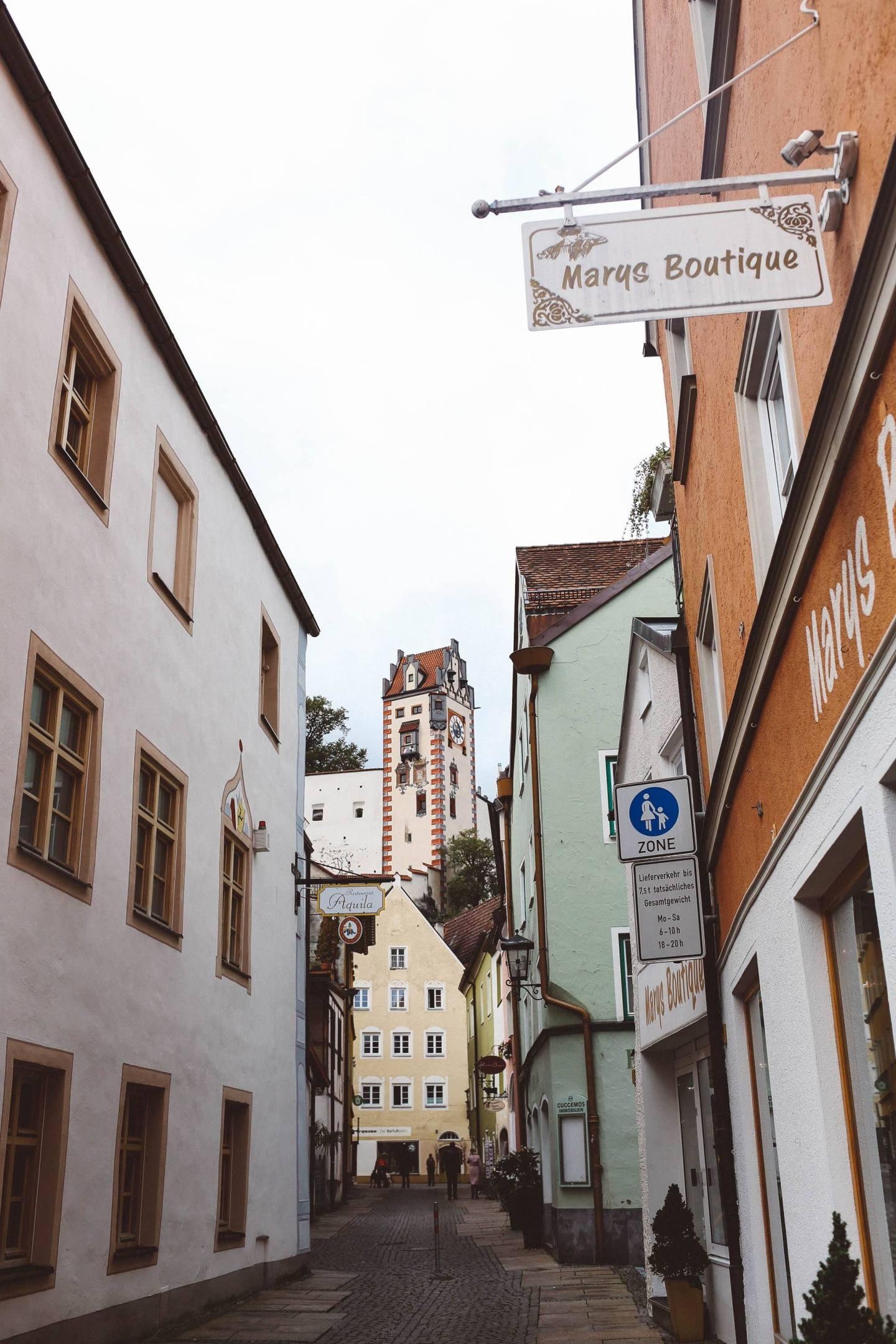 Füssen, Germany castle
