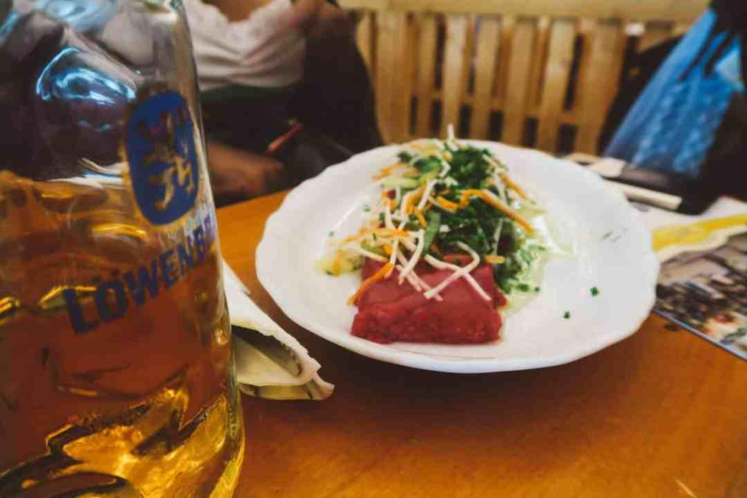 Oktoberfest Munich food