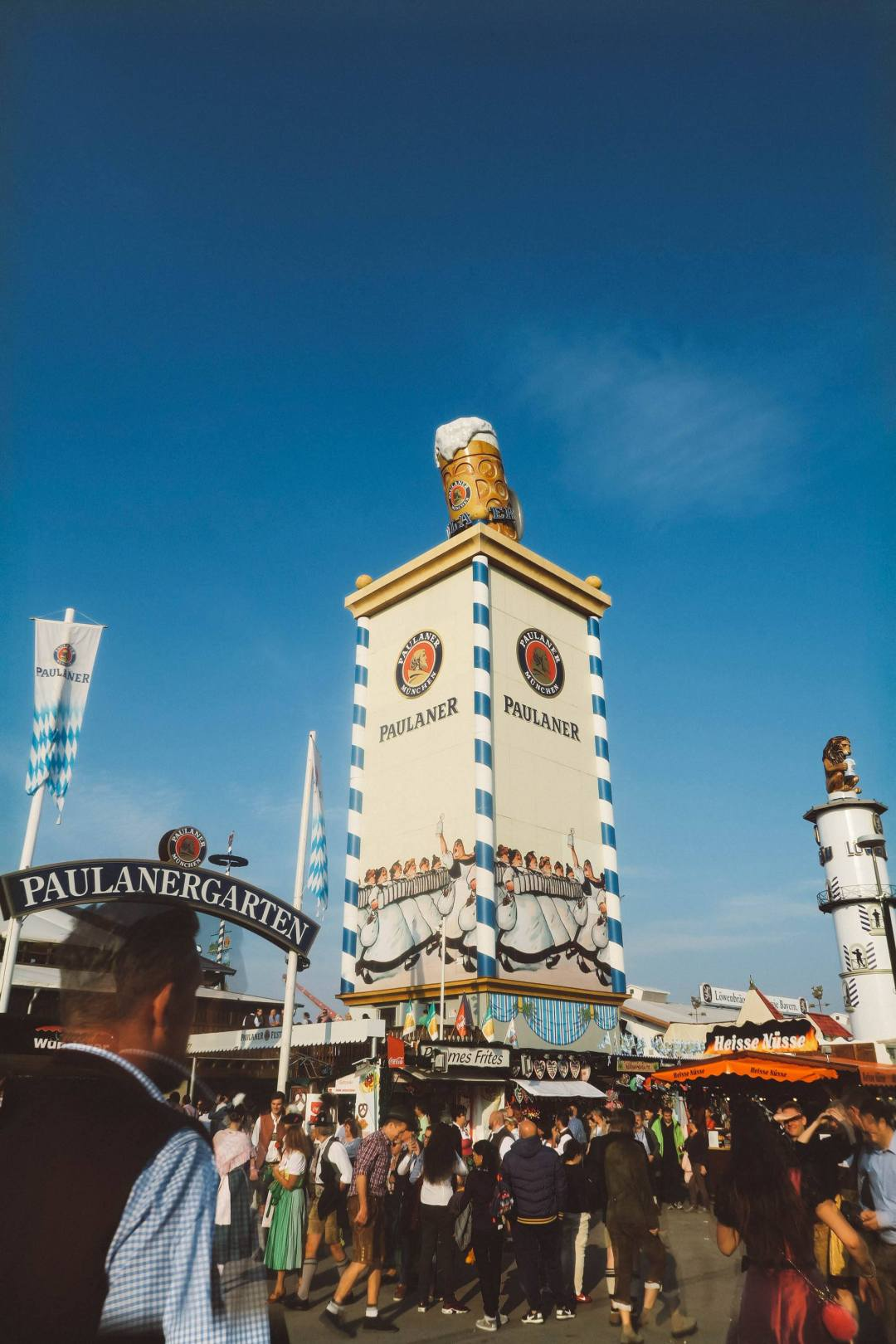 Oktoberfest Munich pauliner