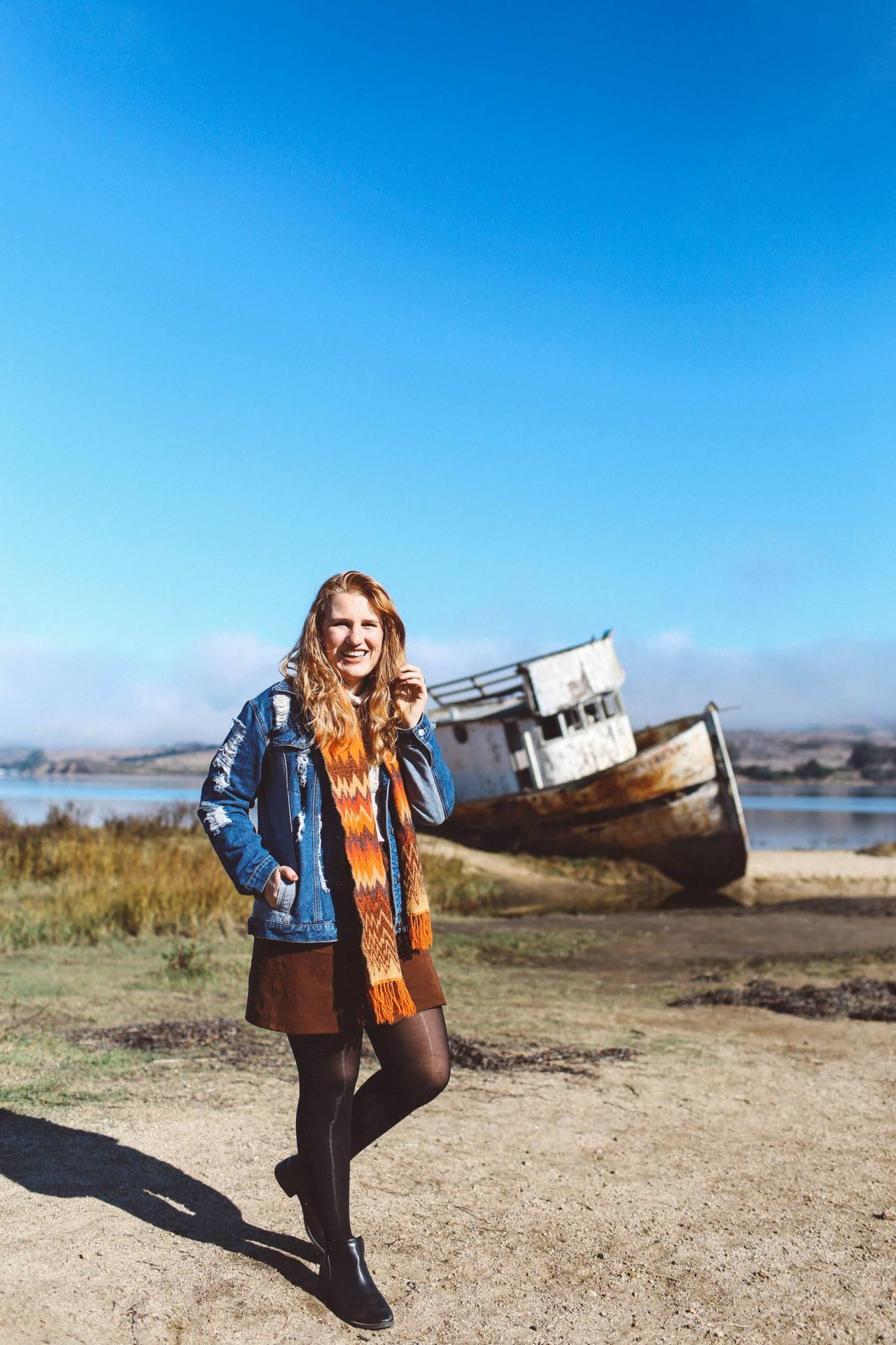 Point Reyes shipwreck woman