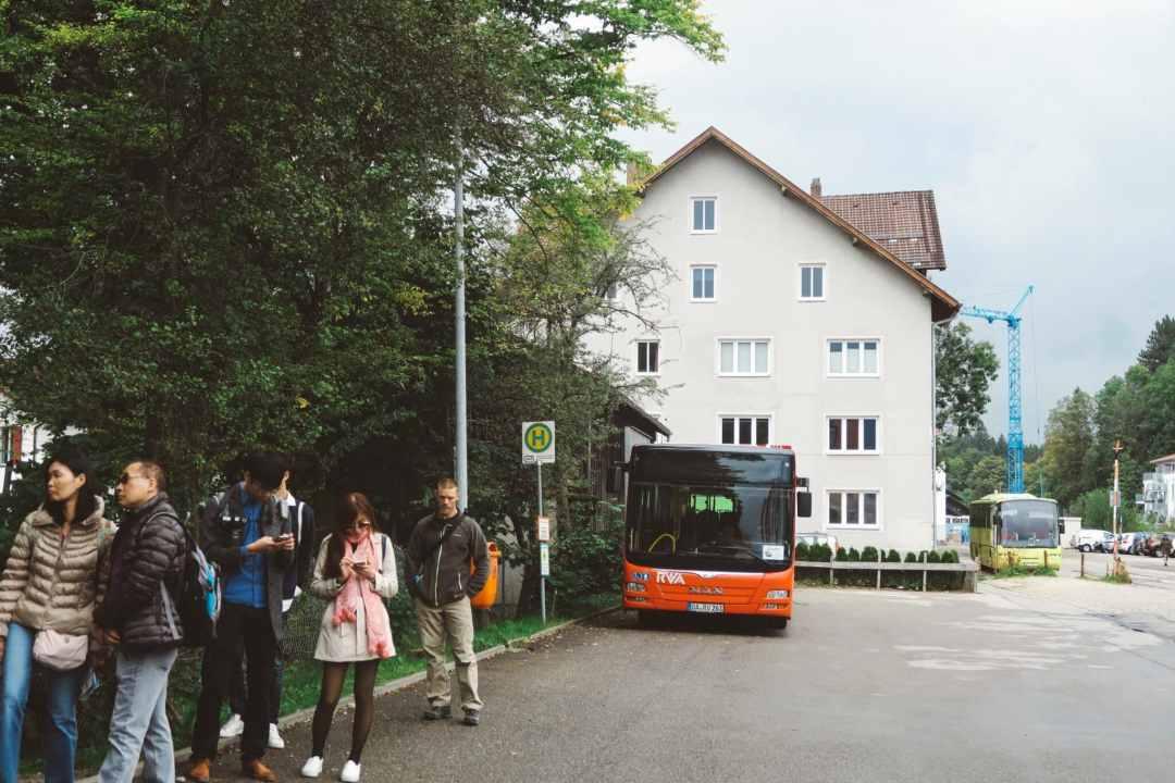 fussen bus Neuschwanstein Castle