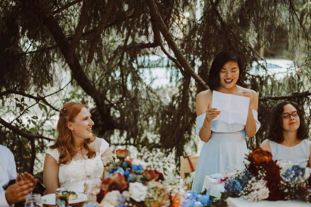 wedding maid of honor speech