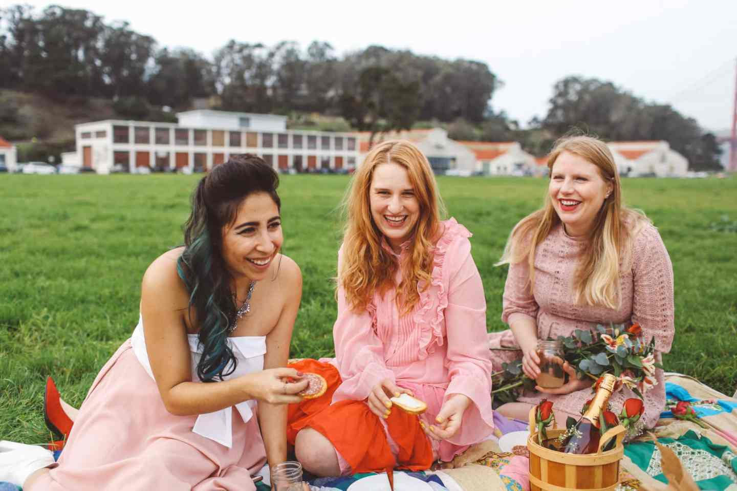 Galentine's Day photoshoot idea picnic san francisco