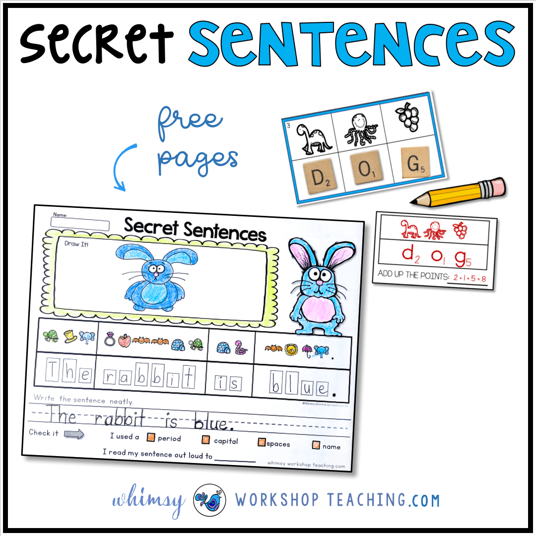 Secret Sentences For Phonics Fun
