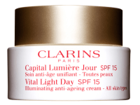 clarins vital light