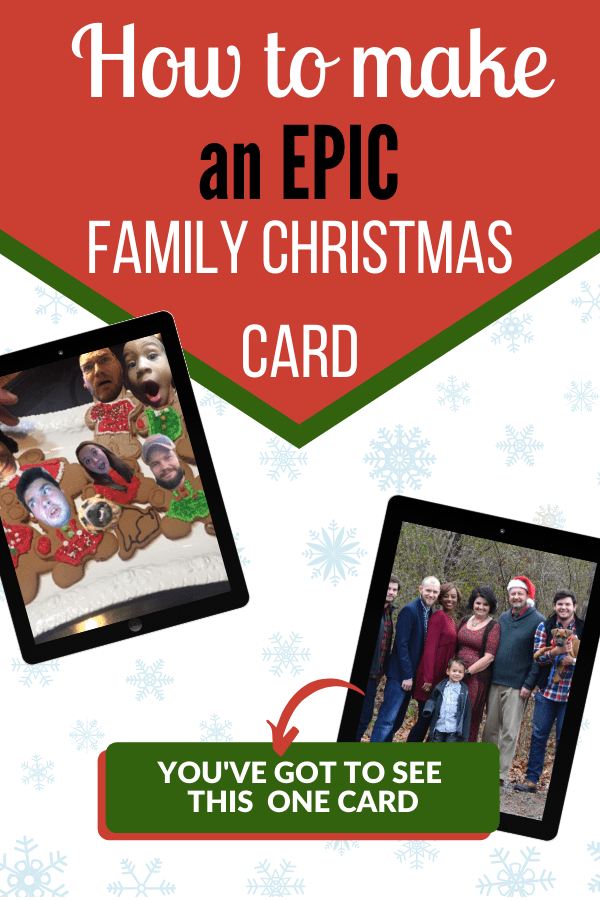 How to Make an Epic Family Christmas Card