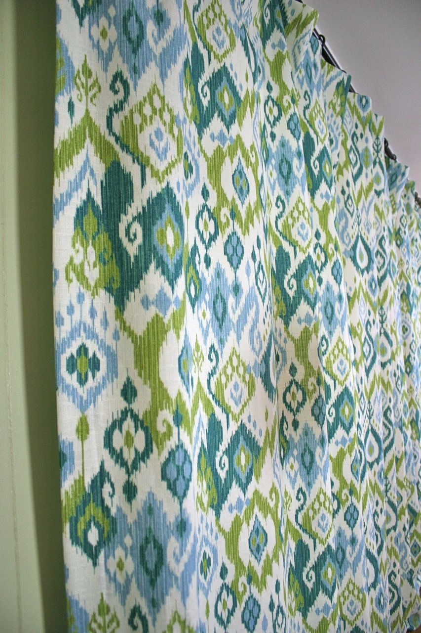 Curtains For The Den Whipstitch