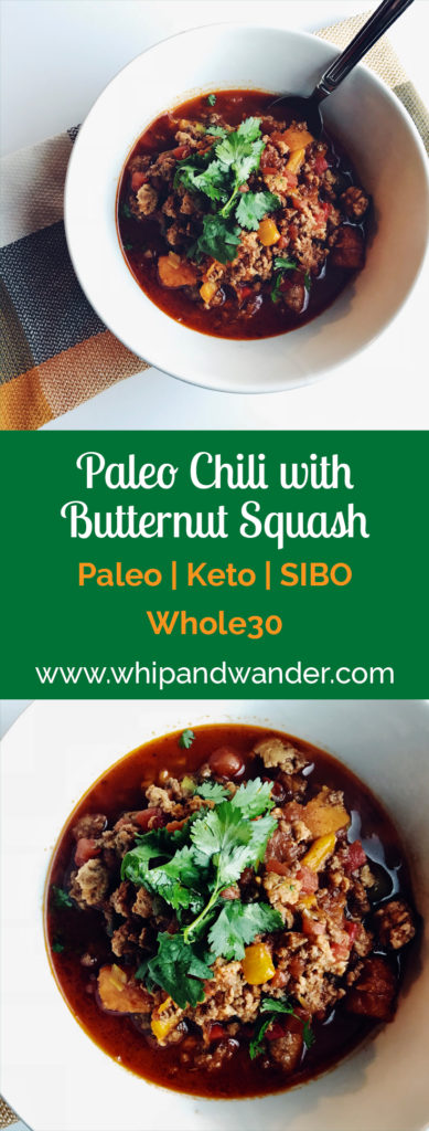 Paleo Chili with Butternut Squash