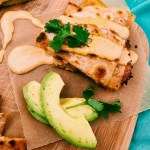 Grain-Free Chicken Quesadillas