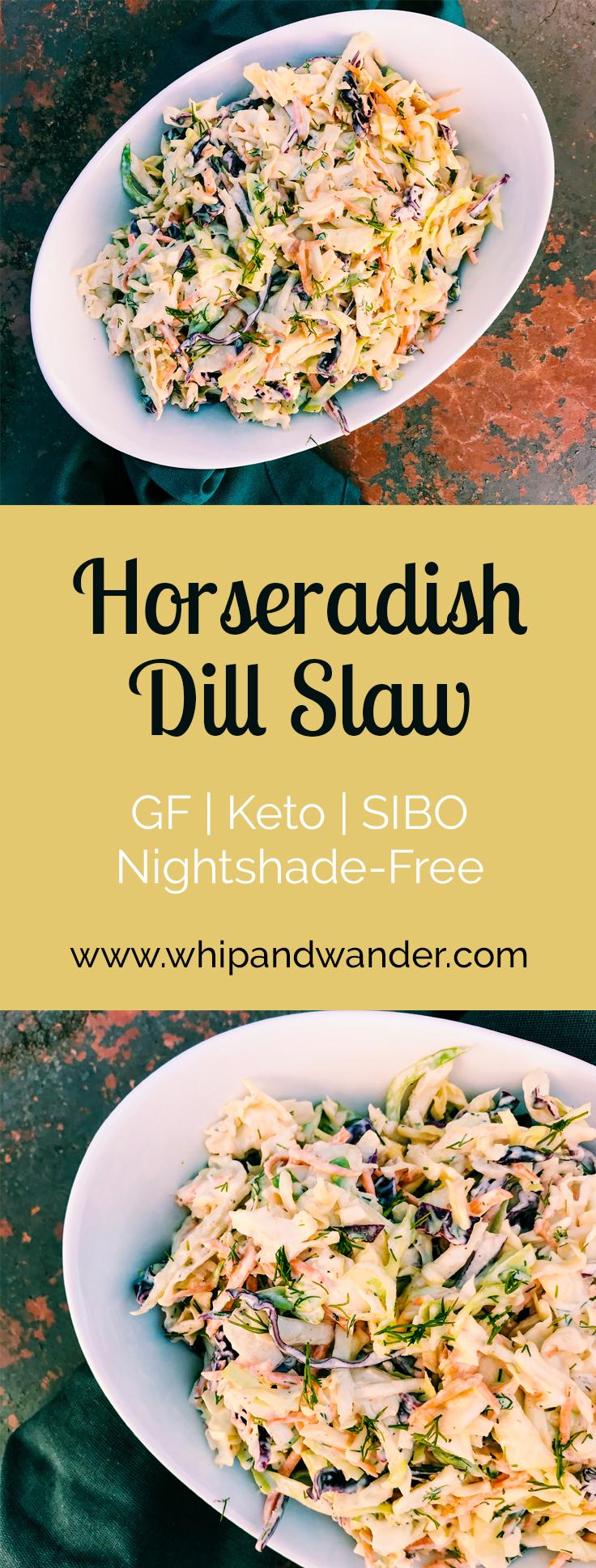 Horseradish Dill Slaw
