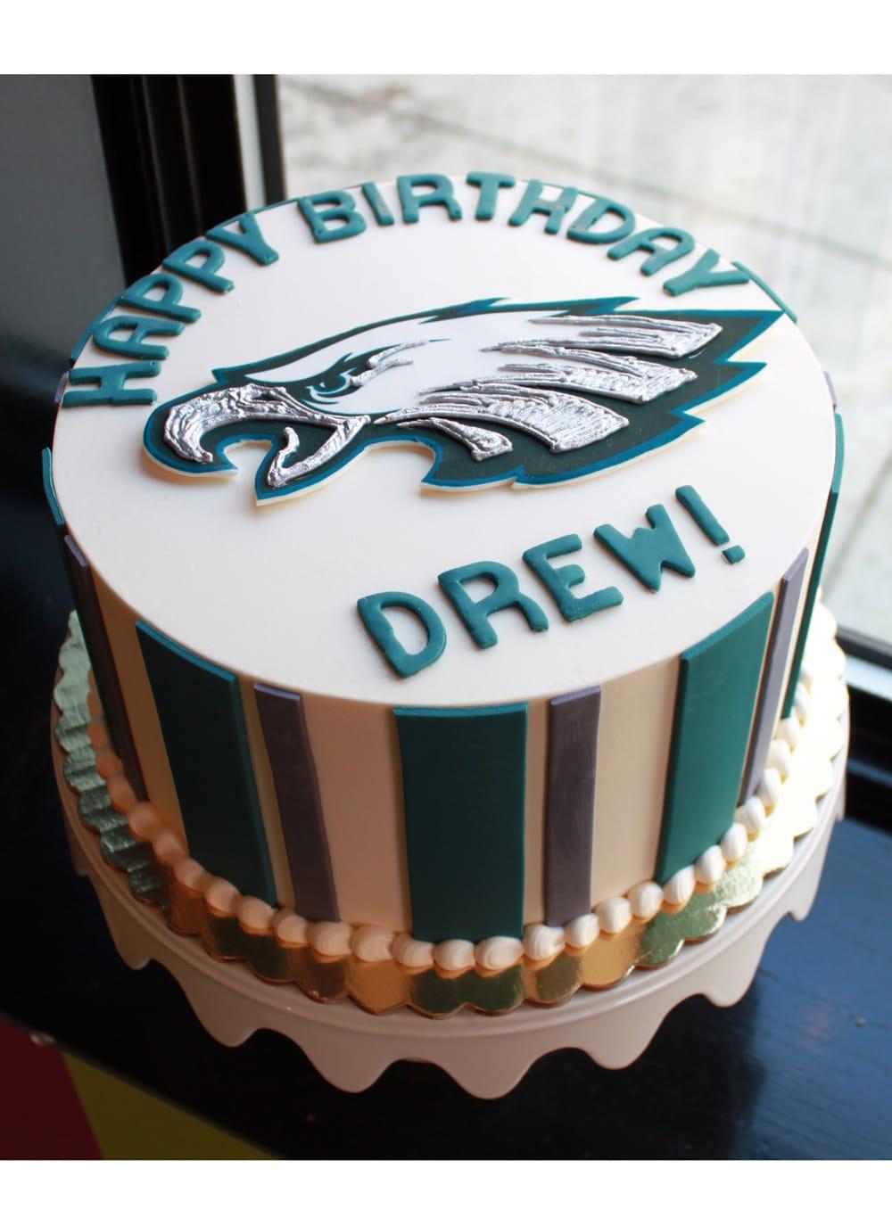 Eagles Birthday Cake Whipped Bakeshop Philadelphia