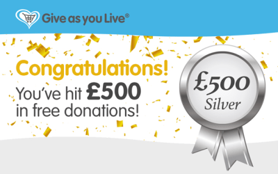 Give As You Live – Thank you!