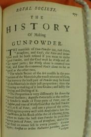 Gunpowder paper