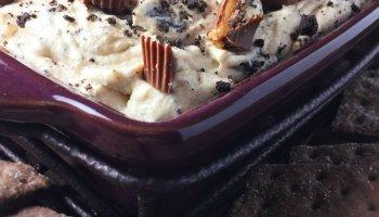 Fluffy peanut butter pie dip