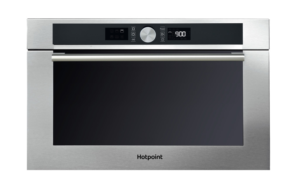 hotpoint md 454 ix h built in combination microwave stainless steel