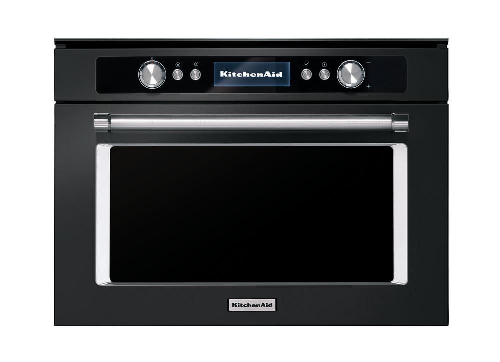 black stainless steel combi microwave