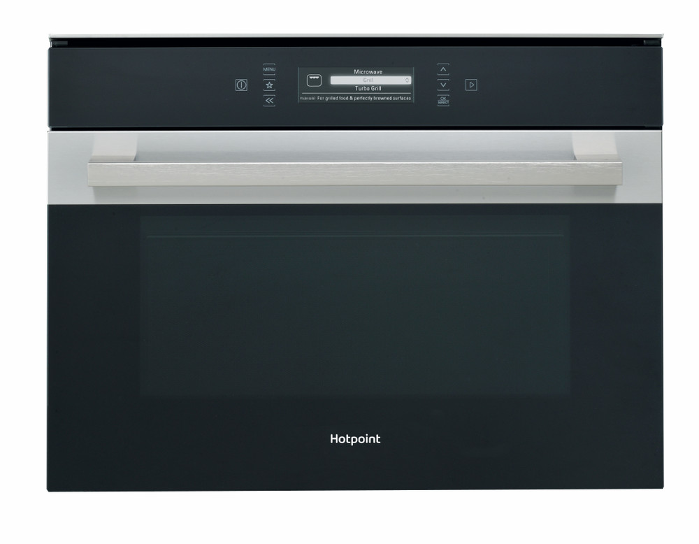 hotpoint class 9 mp 996 ix h built in microwave stainless steel