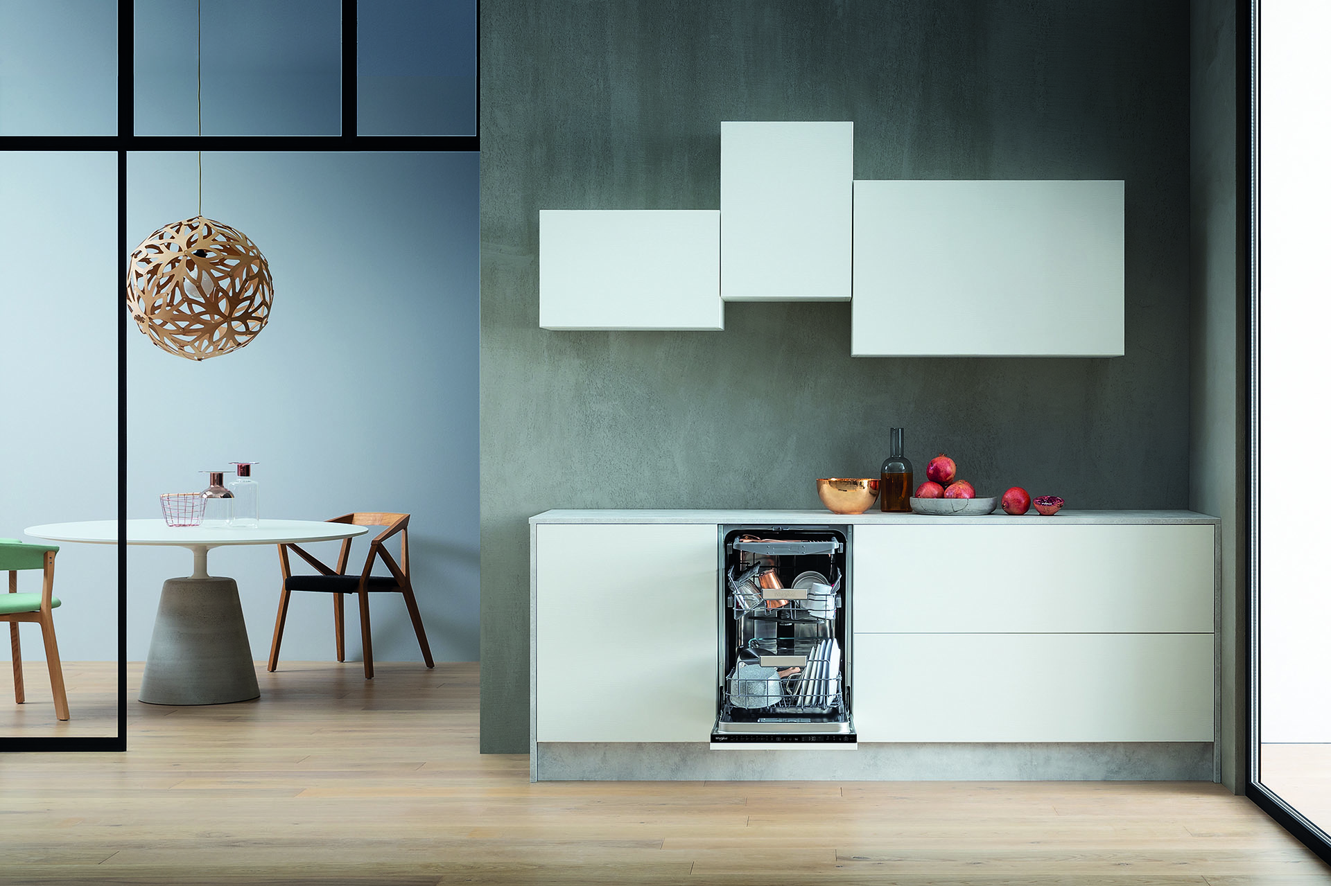 Whirlpool's New Slim Size Dishwasher Delivers All The