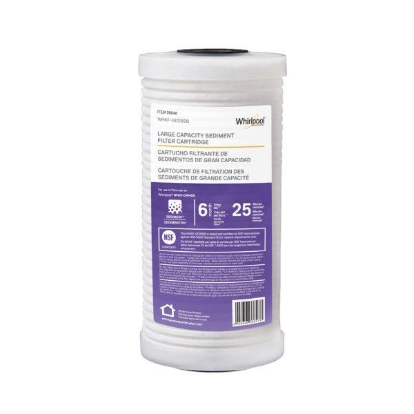 WHKF-GD25BB Large Sediment Filter