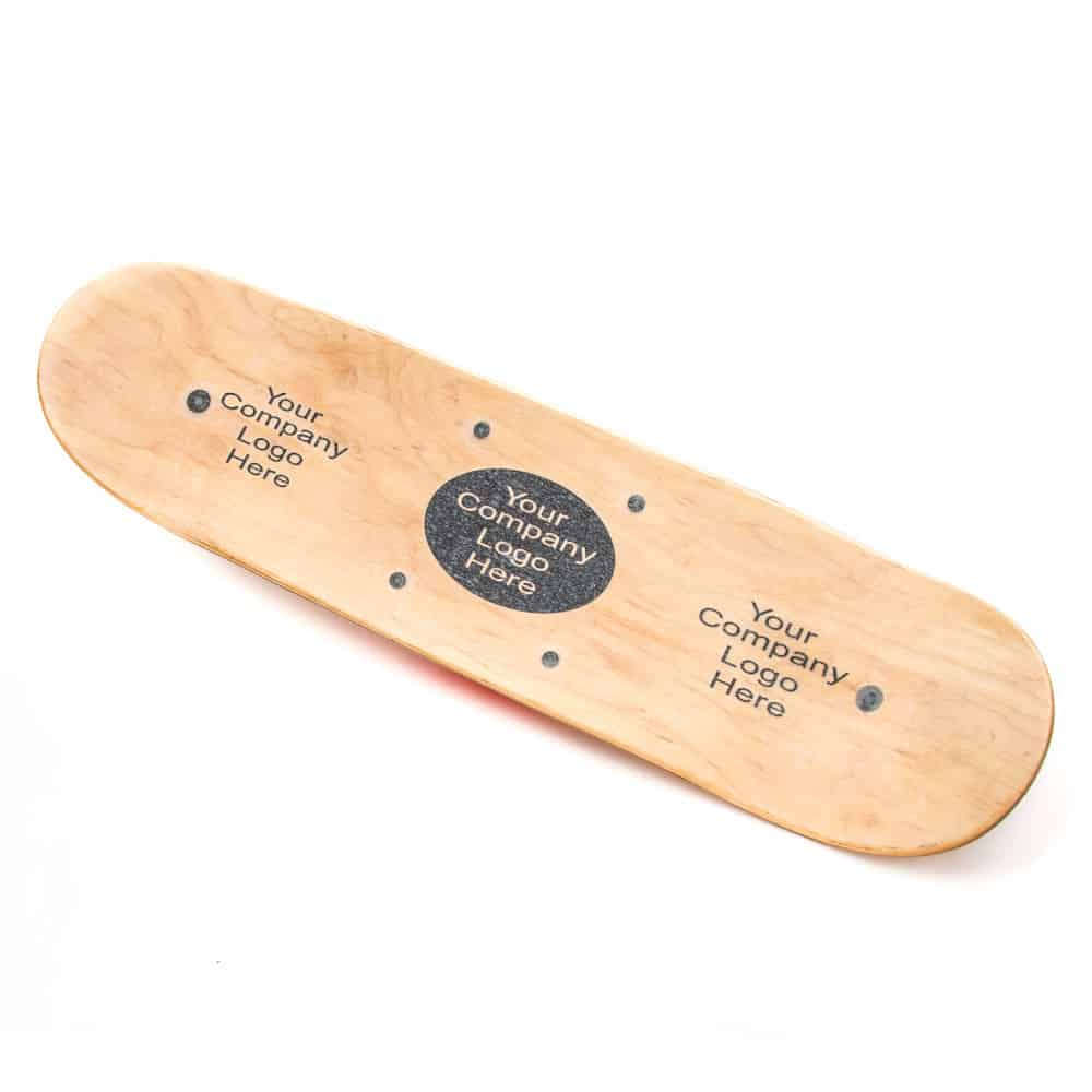 custom logo whirly boards with clear skateboard grip tape