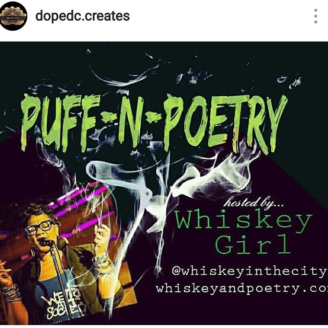 Dope DC Creates Presents...Puff N Poetry Open Mic Hosted by Whiskey Girl @ The Stew | Washington | District of Columbia | United States
