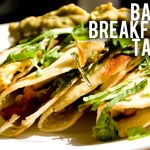 Homemade Bacon Breakfast Tacos Recipe