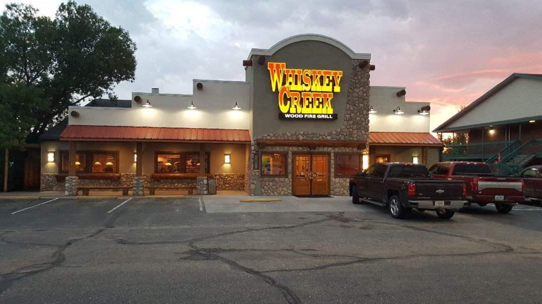 Whiskey Creek Wood Fire Grill at Hays, KS USA