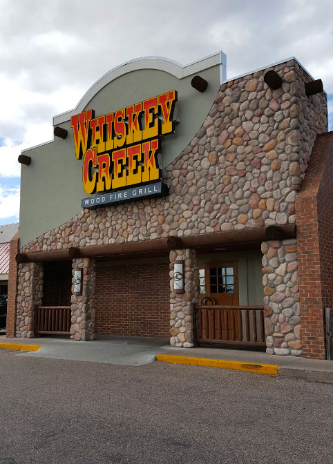 Whiskey Creek Wood Fire Grill at North Platte, NE USA