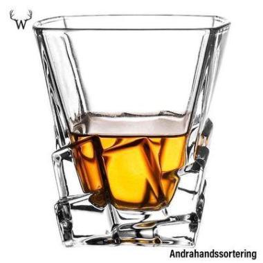 Whiskeyglas Brick Liquor Glass - Andrahands sortering