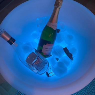 Party Cooler - Ishink med belysning