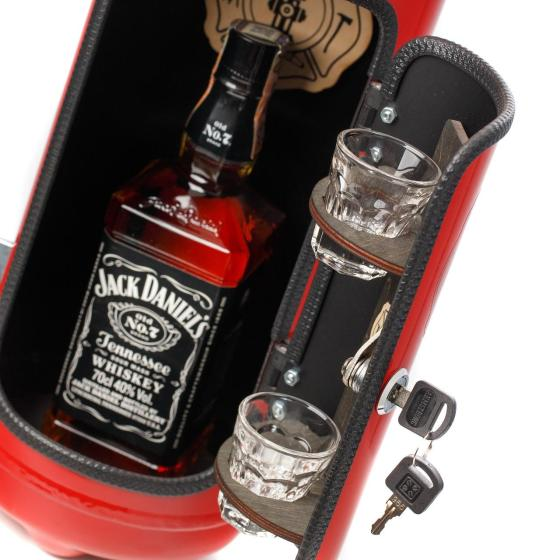 Portabel Minibar Brandsläckare - Firebar Red