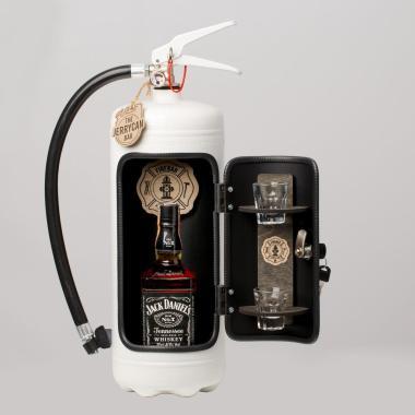 Portabel Minibar Brandsläckare - Firebar White