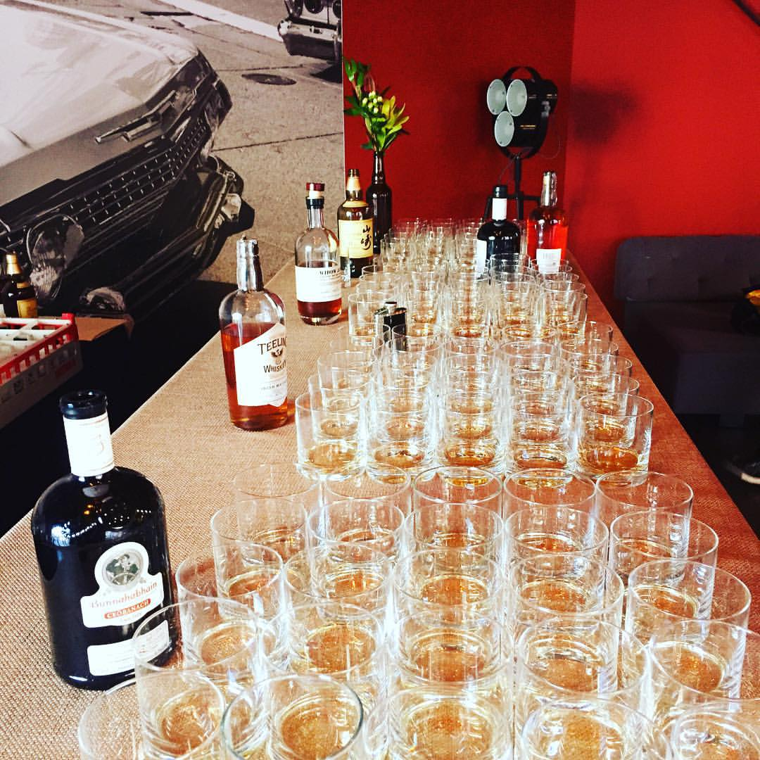 Private Whiskey Tasting for SVB & Obvious Ventures [08.27.2015]