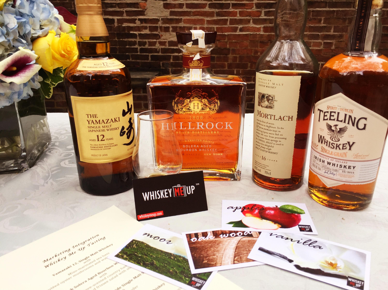 Whiskey tasting by: Rose Jia Food by: Carolyn Grifel