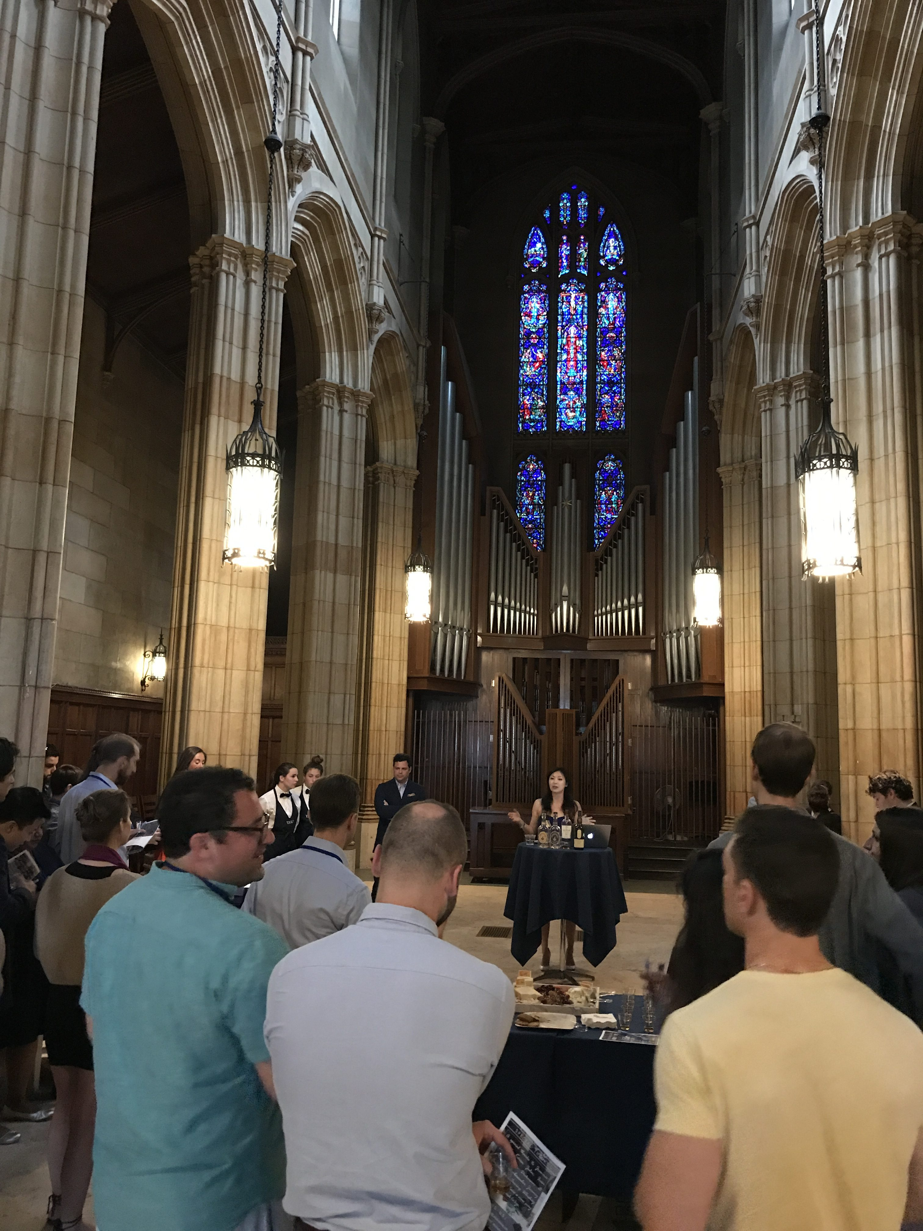 Whiskey Me Up at the Yale Reunion [06.02.2017]
