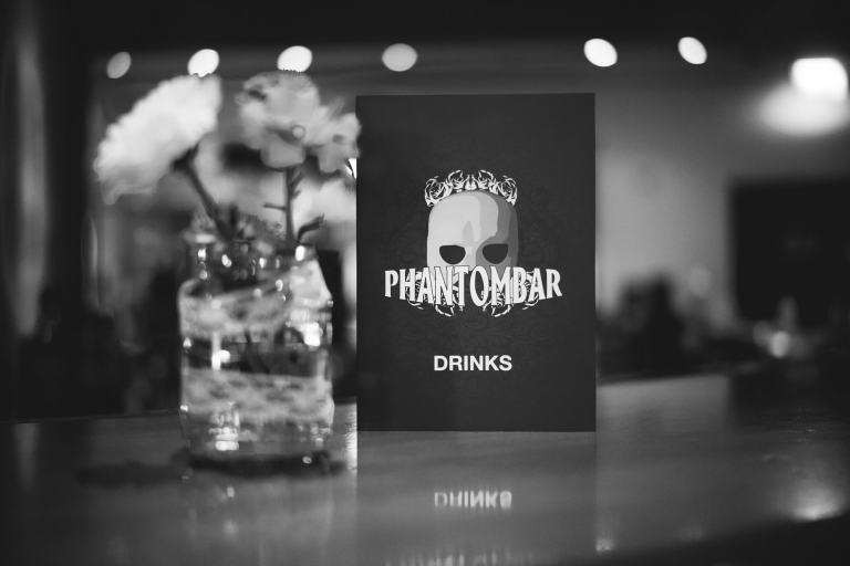 Phantombar Tischkarte