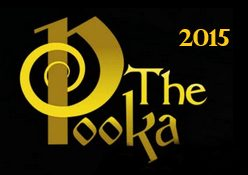 2015 Irish Whiskey Trail Irish Whiskey of the Year Golden Pooka Award Winner Powers Three Swallow Single Pot Still Irish Whiskey