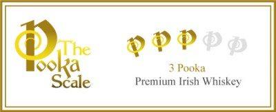 We Classified Teeling Brabazon 2 as a 3 Pooka Irish Whiskey. Irish Whiskey Trail