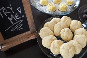 Lemon Glazed Ricotta Cookies