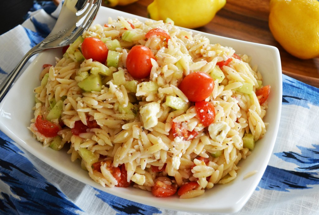 Fresh Summer Orzo Salad