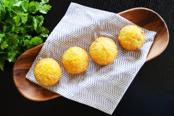 Green Chile's and Cheddar Corn Muffins