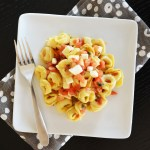 Easy Bruschetta Tortellini